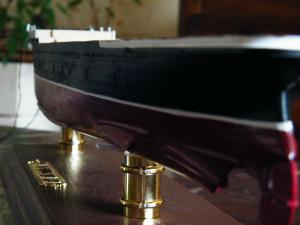 RMS Lusitania (Deluxe Model) - 1:350 - Gunze Sangyo Mini_259284DSCF0861