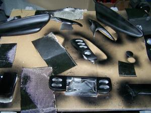 Boxster 986 2.5 préparation, intérieure carbone ... Mini_297407101_6512