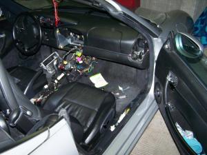 Boxster 986 2.5 préparation, intérieure carbone ... Mini_429405101_6428