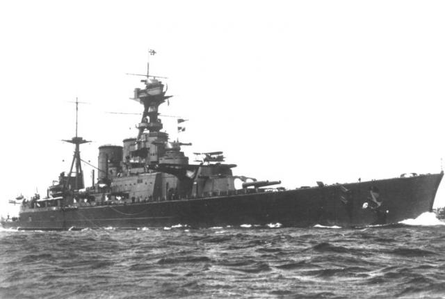 ROYAL NAVY CROISEUR DE DE BATAILLE HMS HOOD 135773HMS_Hood_1925