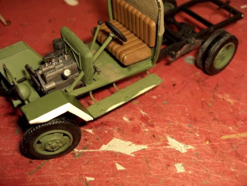 Camion Russe GAZ-MM de 1943 Zvezda 1/35 - Page 2 229161HPIM1770