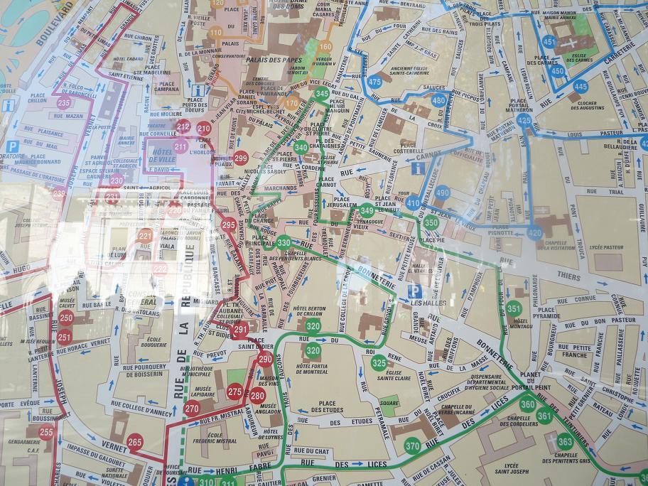 AVIGNON :TGV ,DEMOISELLES ET PONTS PRESENTS MAIS ARLES RESTE MUET CE SOIR 245052P1010907
