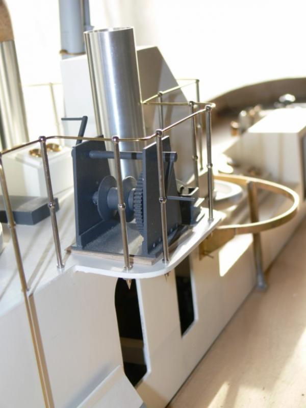 """Maquette remorqueur à vapeur de 330 tonnes """"Evenos"""" au 1/20ème 309520P1050427__Resolution_de_l__ecran_"""