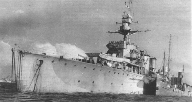ROYAL NAVY CROISEUR DE DE BATAILLE HMS HOOD 360203HMS_Dragon_photo_prise_sous_pavillon_polonais