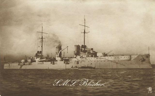 ROYAL NAVY CROISEUR DE DE BATAILLE HMS HOOD 364638SMS_Blucher
