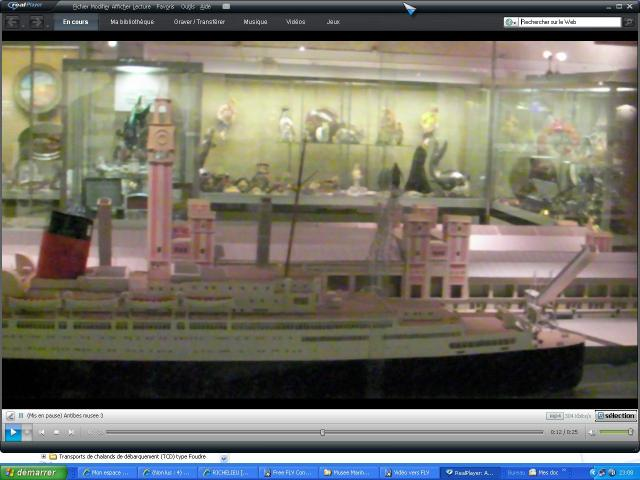musée de la Marine au parc Marineland d'antibes par Marec 365363Port_de_cherbourg