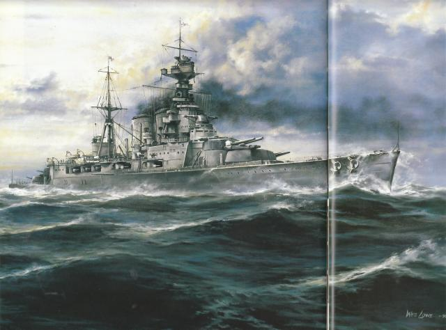 ROYAL NAVY CROISEUR DE DE BATAILLE HMS HOOD 439581HMS.Hood_32
