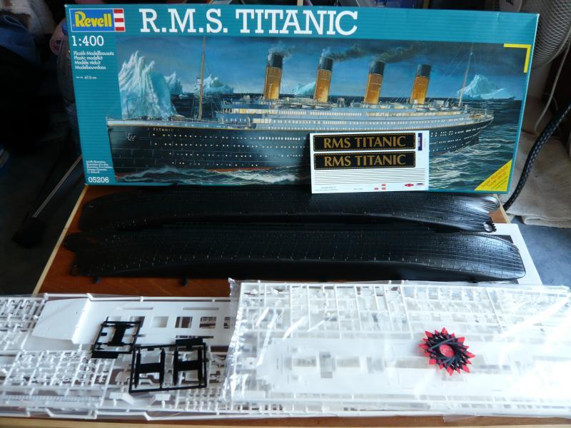R.M.S Titanic Revell 1/400 45969P1050175
