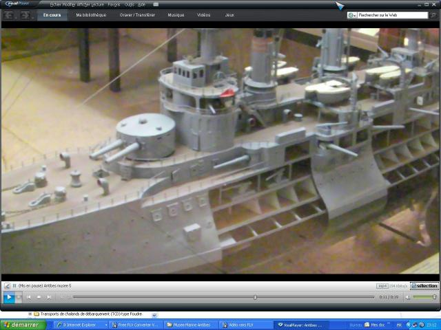 musée de la Marine au parc Marineland d'antibes par Marec 474693cuirasse_iena