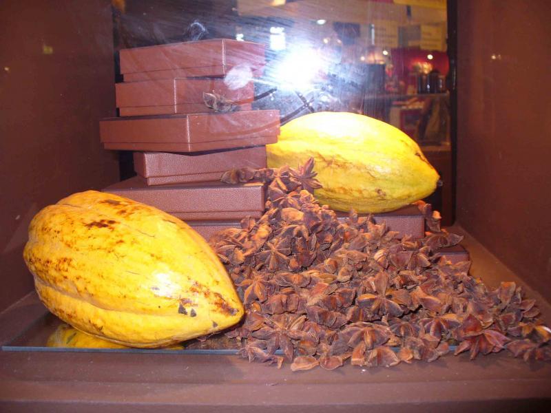 Le salon du chocolat à Paris 509967cho0