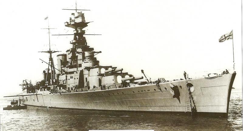 ROYAL NAVY CROISEUR DE DE BATAILLE HMS HOOD 551554HMS_Hood_1ere_photo