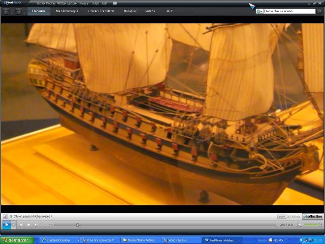 musée de la Marine au parc Marineland d'antibes par Marec 566012musee_antibes_1