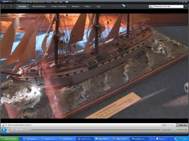 musée de la Marine au parc Marineland d'antibes par Marec 570725le_clementine
