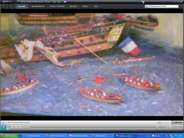 musée de la Marine au parc Marineland d'antibes par Marec 586641le_vengeur_1