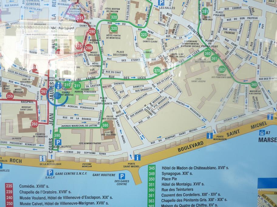 AVIGNON :TGV ,DEMOISELLES ET PONTS PRESENTS MAIS ARLES RESTE MUET CE SOIR 627201P1010906