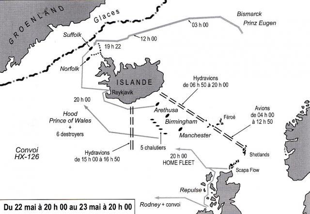 ROYAL NAVY CROISEUR DE DE BATAILLE HMS HOOD 68271Hood_vs_Bismarck_4