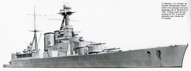 ROYAL NAVY CROISEUR DE DE BATAILLE HMS HOOD 71229HMS.Hood_21