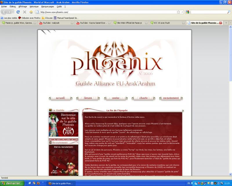 Site Web Officiel de Parøxys 715236phoenix