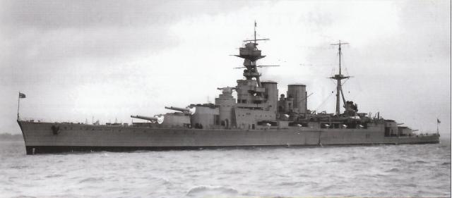 ROYAL NAVY CROISEUR DE DE BATAILLE HMS HOOD 719111Hood_vs_Bismarck_9