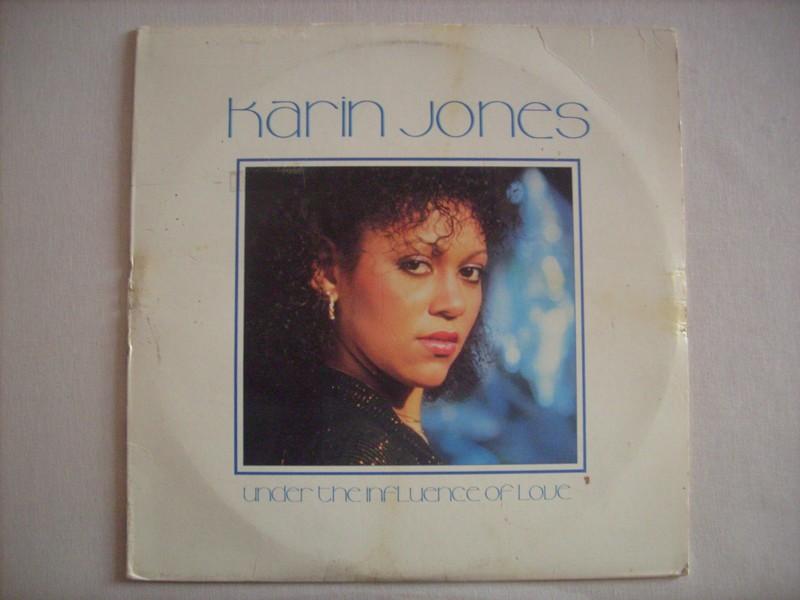 LP-KARIN JONES-UNDER THE INFLUENCE OF LOVE-1982-HANDSHAKE RE 753242KARIN1