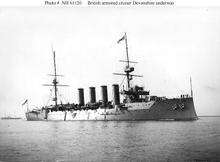 ROYAL NAVY CROISEUR DE DE BATAILLE HMS HOOD 75546Croiseur_cuirasse_HMS_Devonshire