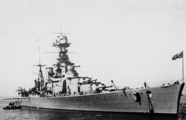 ROYAL NAVY CROISEUR DE DE BATAILLE HMS HOOD 763333HMS_Hood_1935