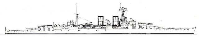 ROYAL NAVY CROISEUR DE DE BATAILLE HMS HOOD 808931HMS.Hood_1