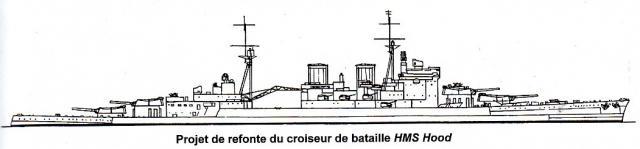 ROYAL NAVY CROISEUR DE DE BATAILLE HMS HOOD 871203HMS.Hood_33