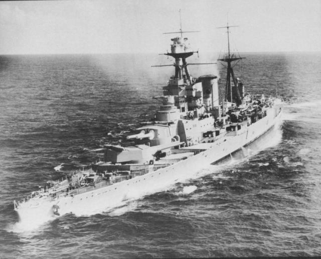 ROYAL NAVY CROISEUR DE DE BATAILLE HMS HOOD 878393HMS_Hood_1937