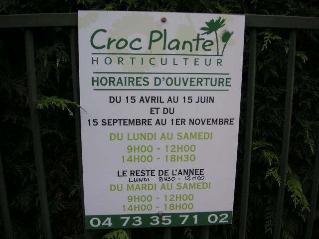 Visite chez Croc plante. 897847Photo_156