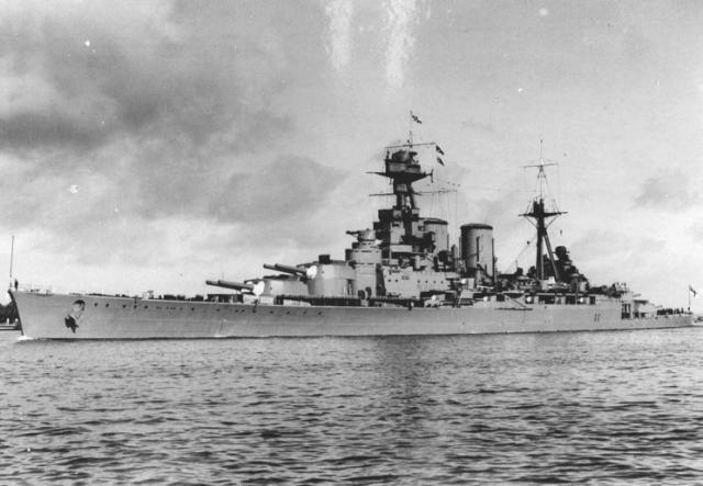 ROYAL NAVY CROISEUR DE DE BATAILLE HMS HOOD 930756HMS_Hood_1939