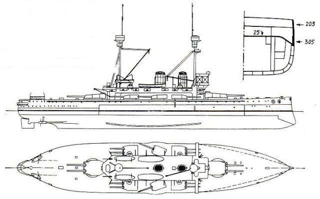 ROYAL NAVY CROISEUR DE DE BATAILLE HMS HOOD 947483Lord_Nelson_1909