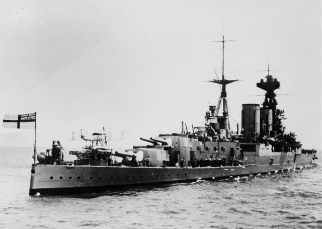ROYAL NAVY CROISEUR DE DE BATAILLE HMS HOOD 951972HMS_Hood_annees_1930
