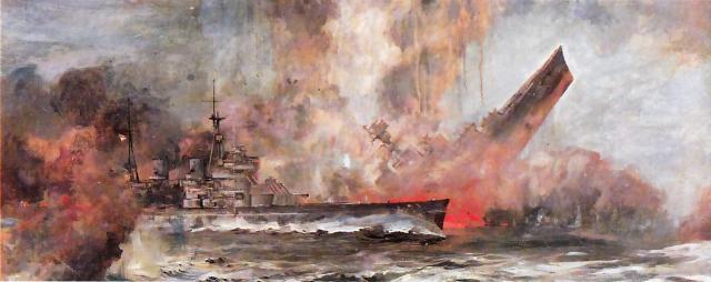 ROYAL NAVY CROISEUR DE DE BATAILLE HMS HOOD 954610Hood_vs_Bismarck_22