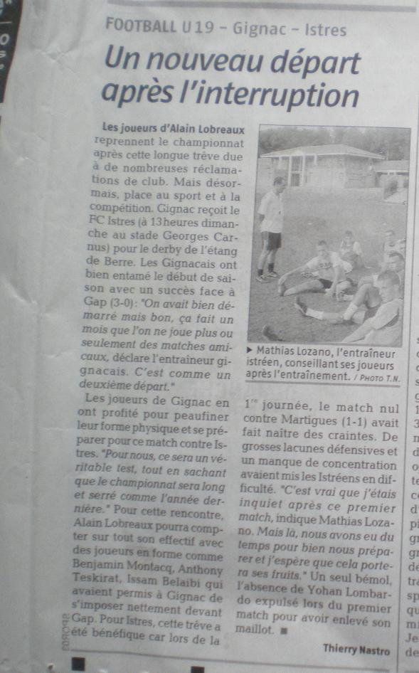 AS GIGNAC LA NERTHE //  DHR MEDITERRANEE  PROVENCE  978455IMGP8185