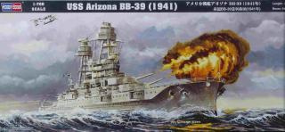 USS Arizona - 1/700e - Hobby Boss 996449Arizona___Boxart