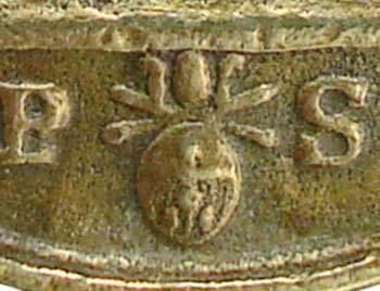 1712 - Medalla Salvator Mundi / Cuatro santos canonizados em 1712 - MR(335)(R.M. SXVIII-O195) Vr92