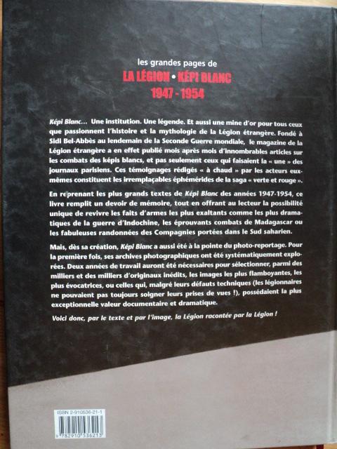 LES GRANDES PAGES DE LA LEGION - KEPI BLANC  1947-1954 19428511
