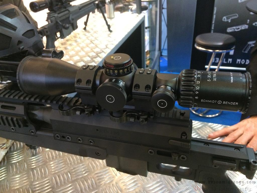 S&B PMII 5-20x50 Ultra Short Frnp