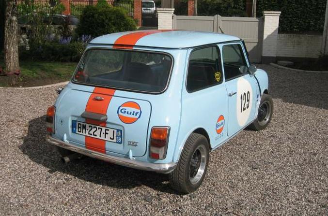 Liégeois en Mini 1000 de 1979... peut-être Gulf2