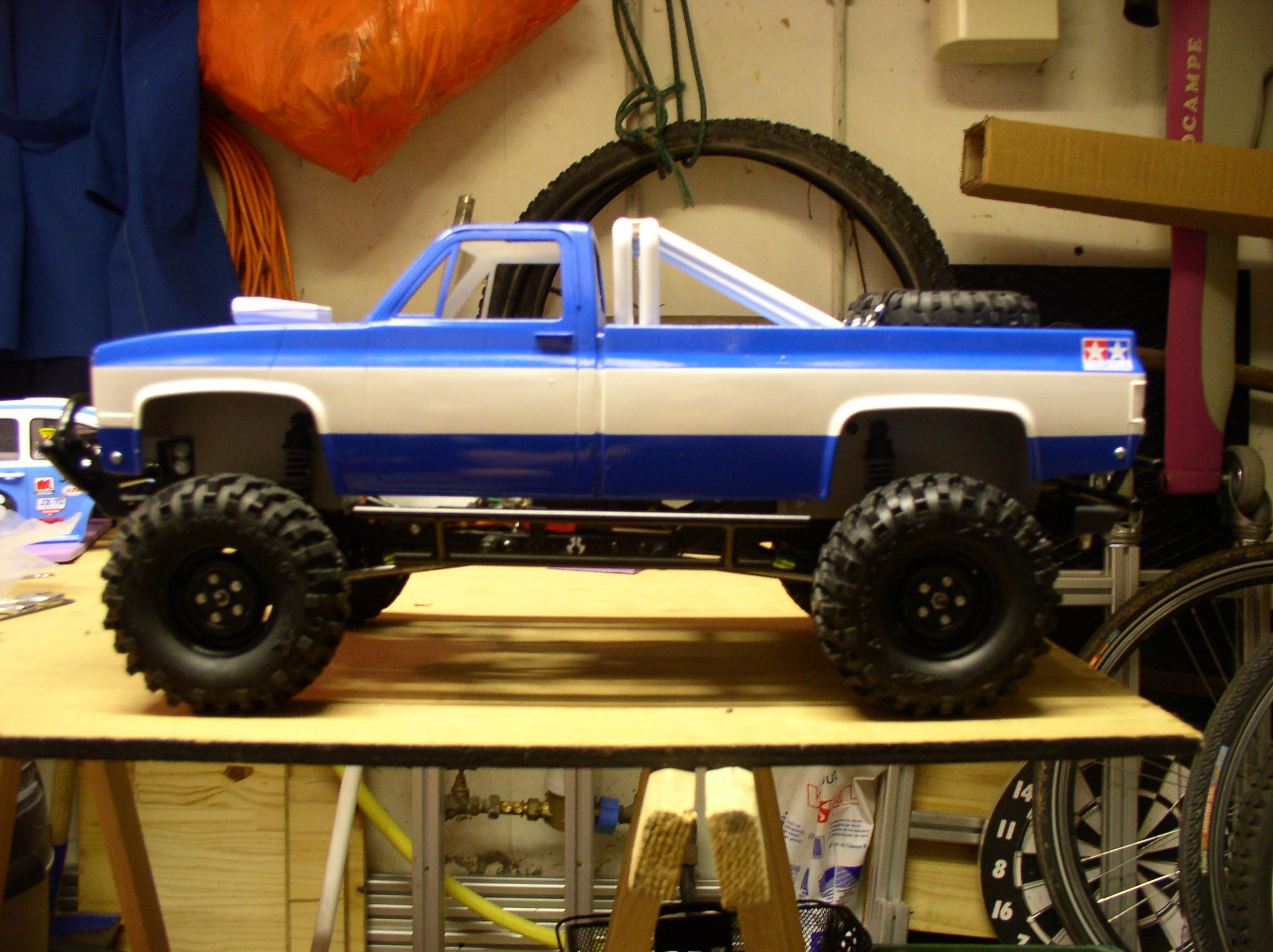 Mon Chevrolet K5, benne rallongée  (châssis SCX10)  P1010006j