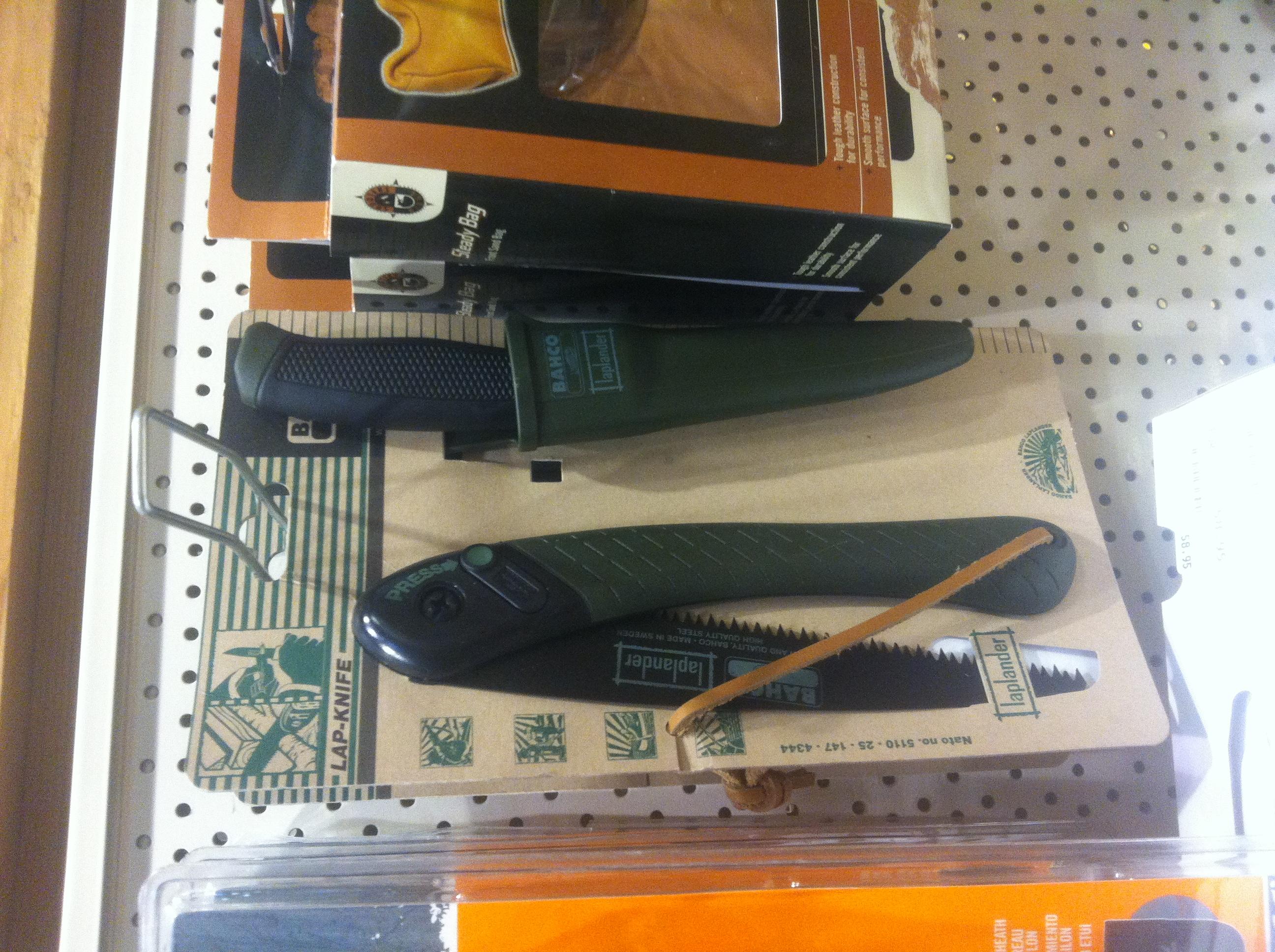 Cijene noževa,pila i opreme van Lijepe Naše Q0e9