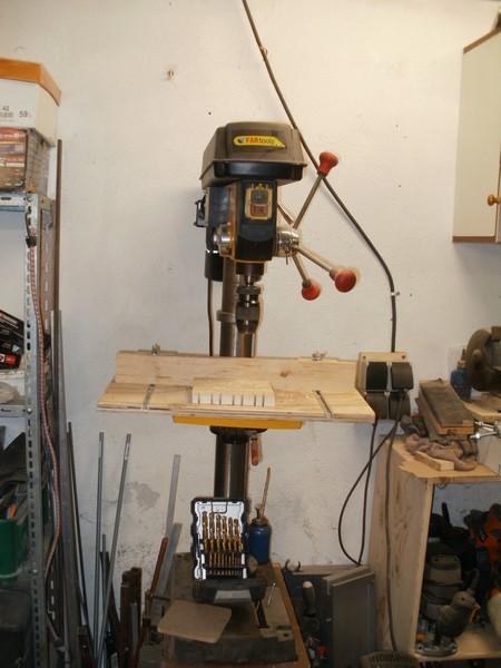 Axminster AWFSRD550 Floor Standing Radial Drill    P6100122j