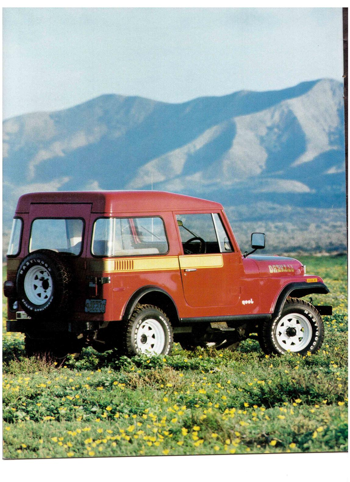 Jeep CJ7: différences entre versions - Page 2 Jeepcj7lanero