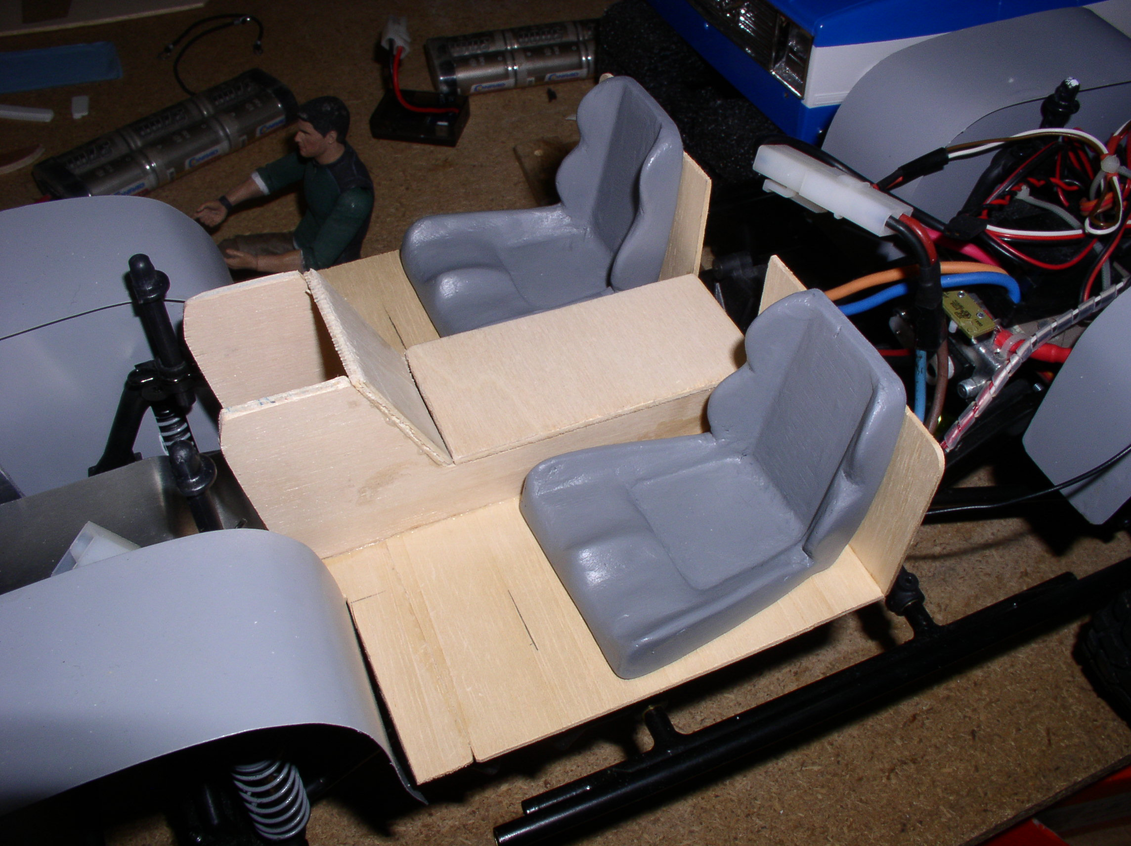 Mon Chevrolet K5, benne rallongée  (châssis SCX10)  28222461