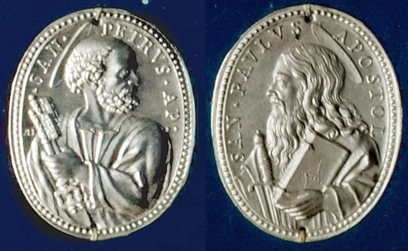 San Pedro / San Pablo. (Alberto Hamerani), S. XVII (R.M.SXVII-O473) Pedroypablo