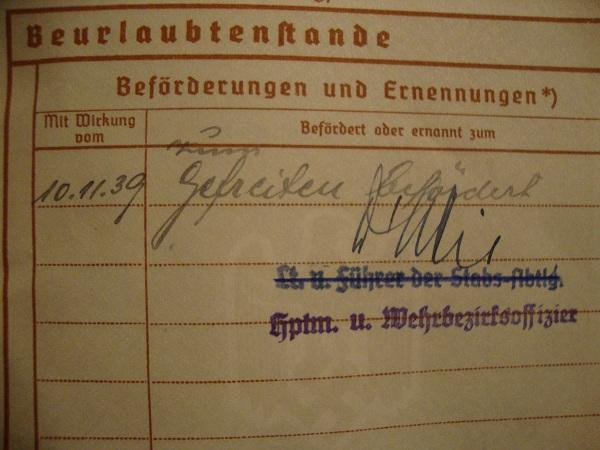 Traduction militarpass et wehrpass d'un suisse ayant combattu pour les allemands Dsc02077ro