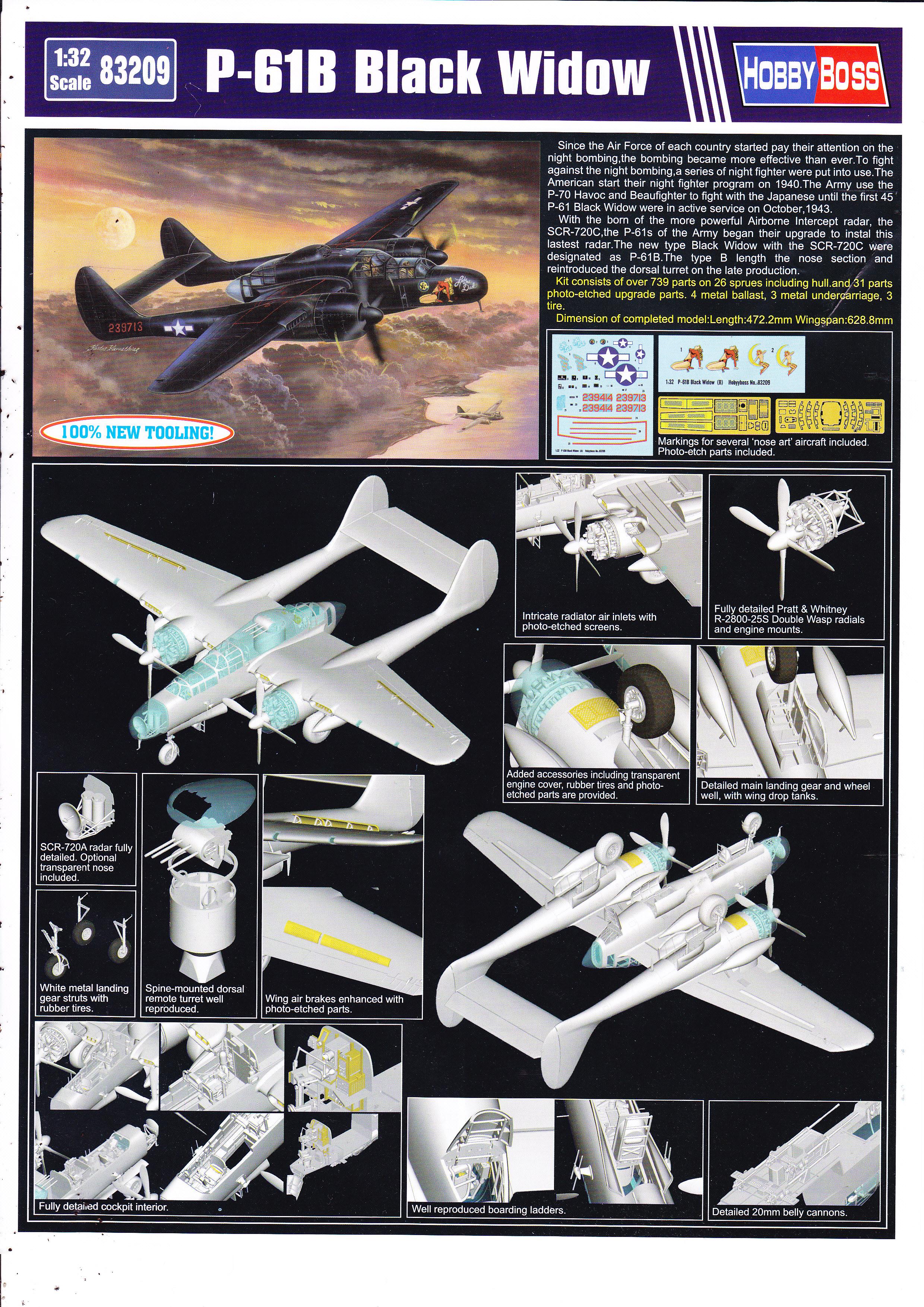 P-61 B Black Widow Hobby Boss Img0001wo