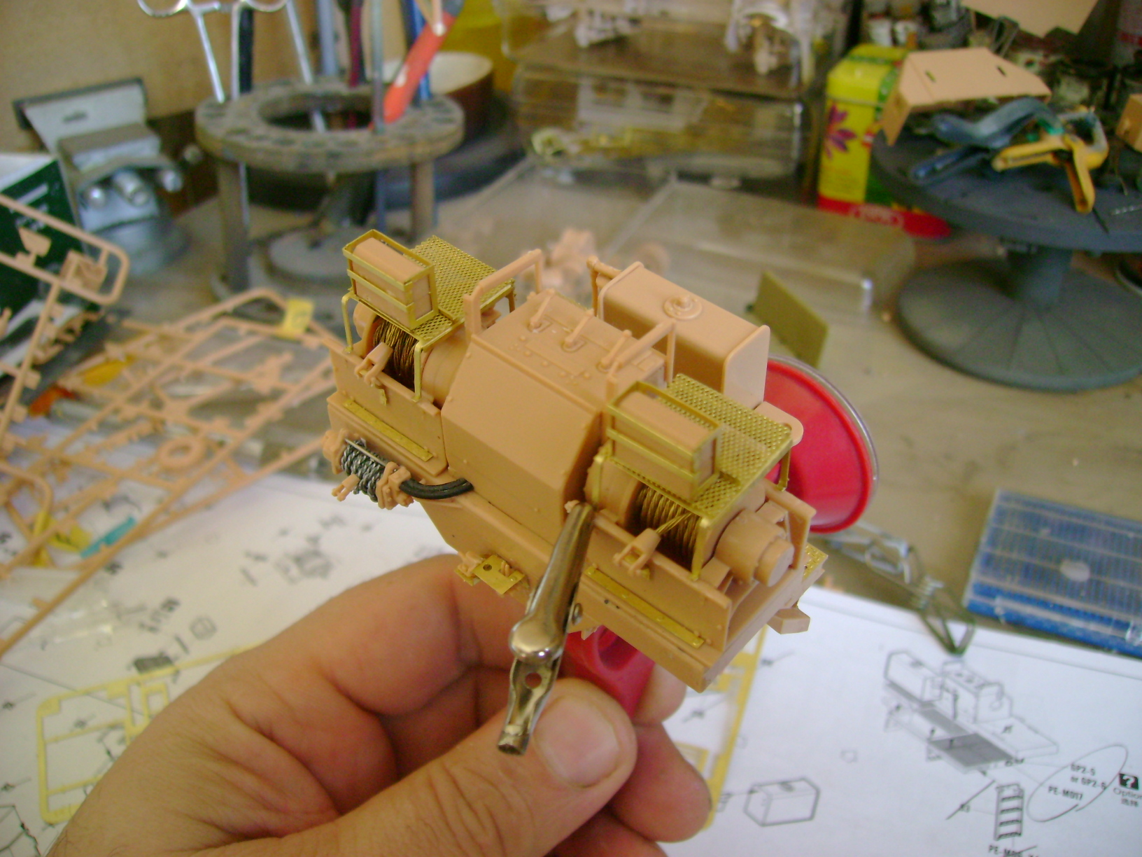 M1070 Truck Tractor & M1000 Semi-Trailer By T-bird!!!!! 1/35 Hobby Boss.Up du01/02.... - Page 3 81989114