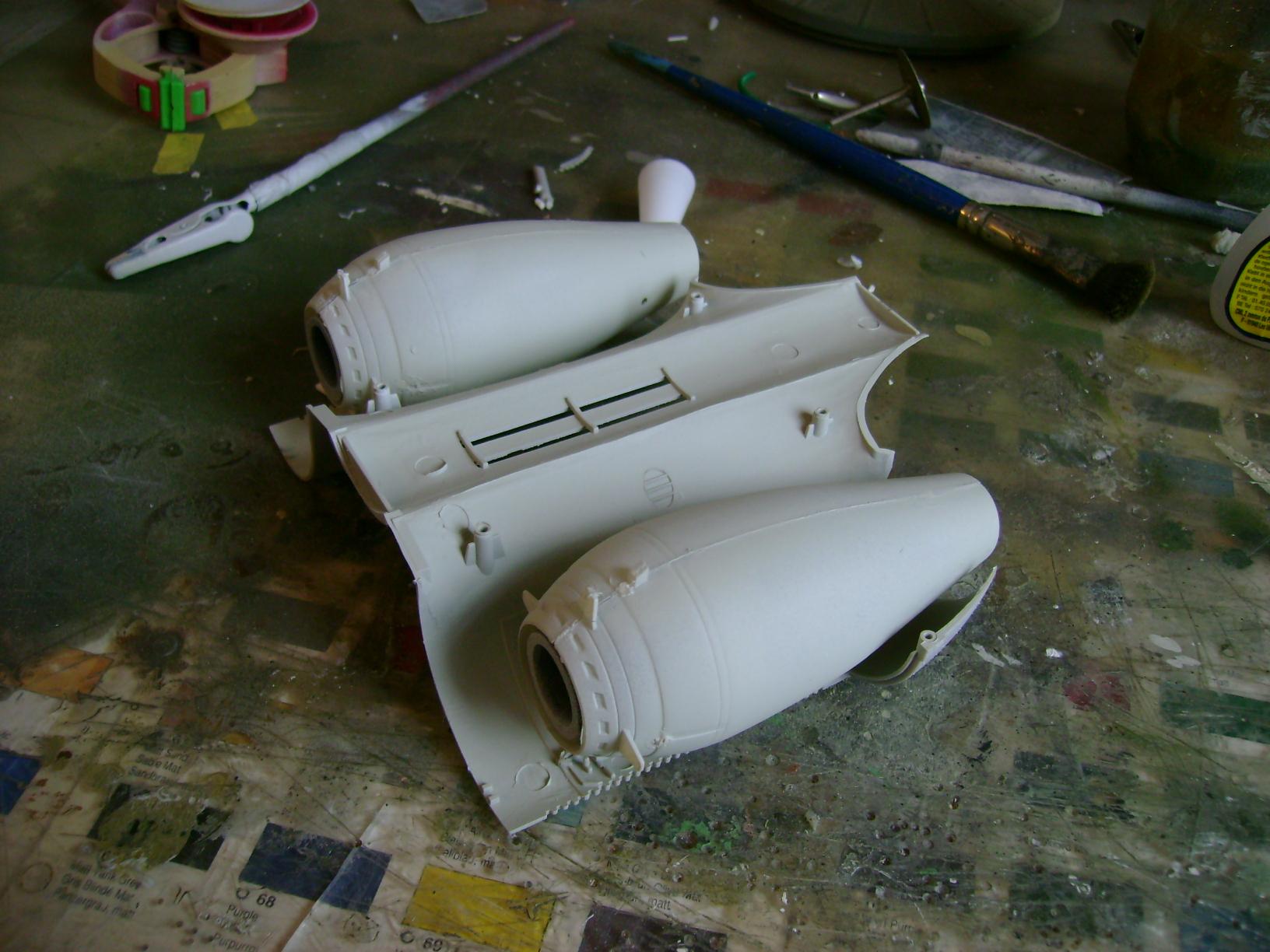 A-10 Thunderbolt II...1/32 Trumpeter + PE Edouard....( T-Bird) Up 02/12... 18632027